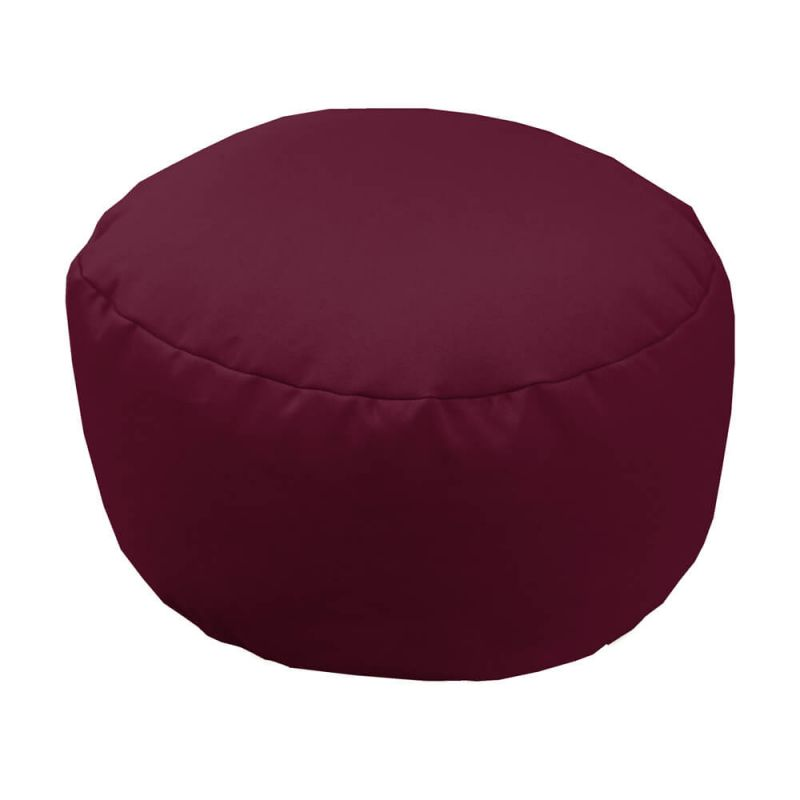 Vibe Footstool Bean Bag - Berry
