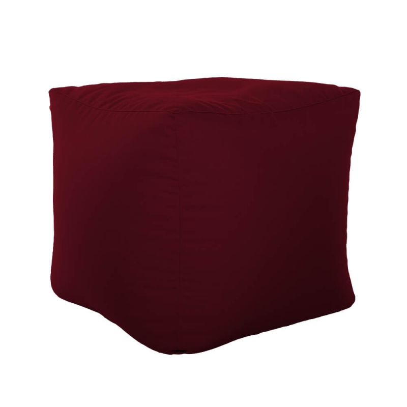 Vibe Cube Bean Bag - Berry