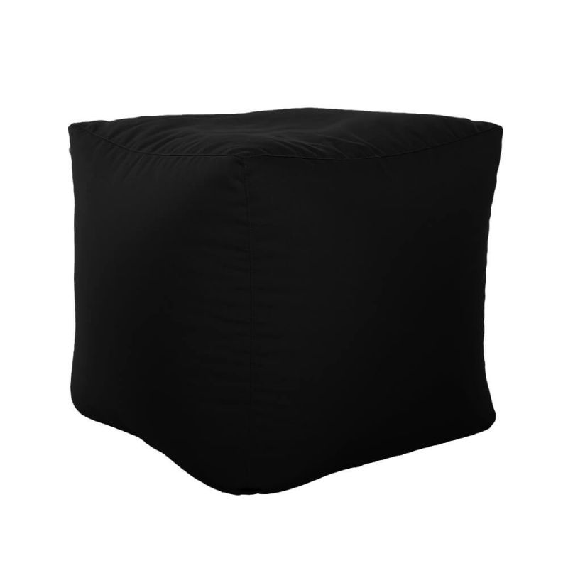 Vibe Cube Bean Bag - Black
