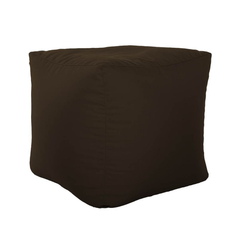Vibe Cube Bean Bag - Brown
