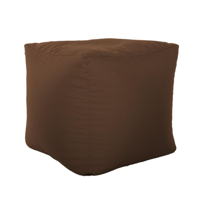 Vibe Cube Bean Bag - Chocolate Brown