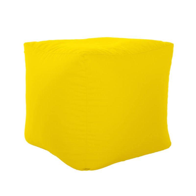 Vibe Cube Bean Bag - Yellow