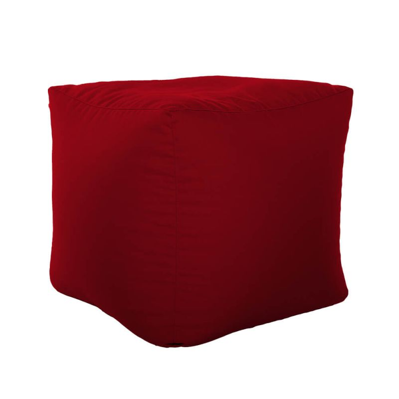 Vibe Cube Bean Bag - Red