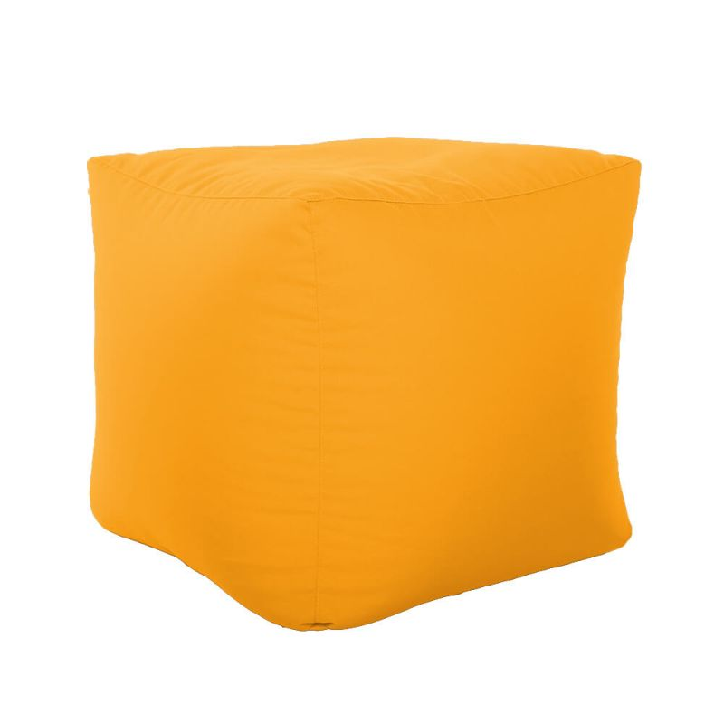 Vibe Cube Bean Bag - Ochre