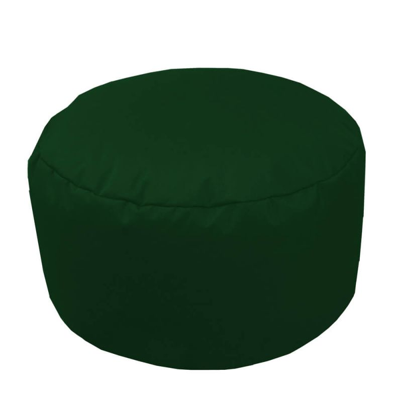Indoor & Outdoor Footstool Bean Bag - Bottle Green