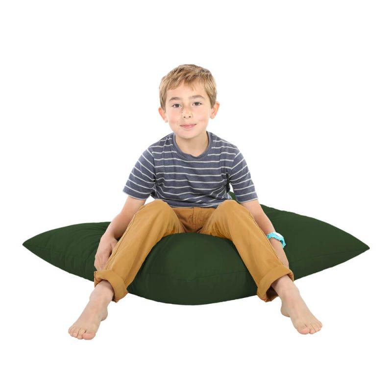 Indoor & Outdoor Giant Floor Cushion Bean Bag - Bottle Green