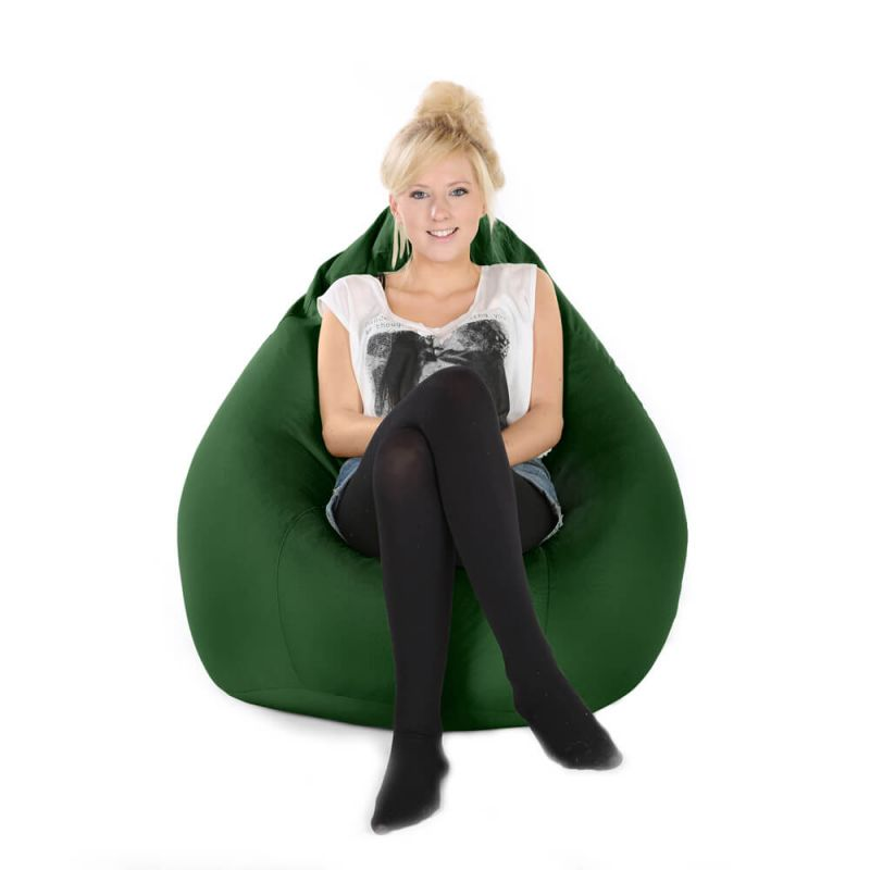 Indoor & Outdoor XXL Gaming Pod Bean Bag - Bottle Green