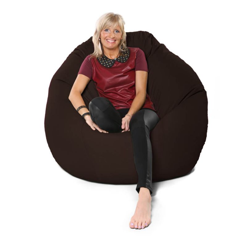 Vibe Giant Mansize Bean Bag - Brown