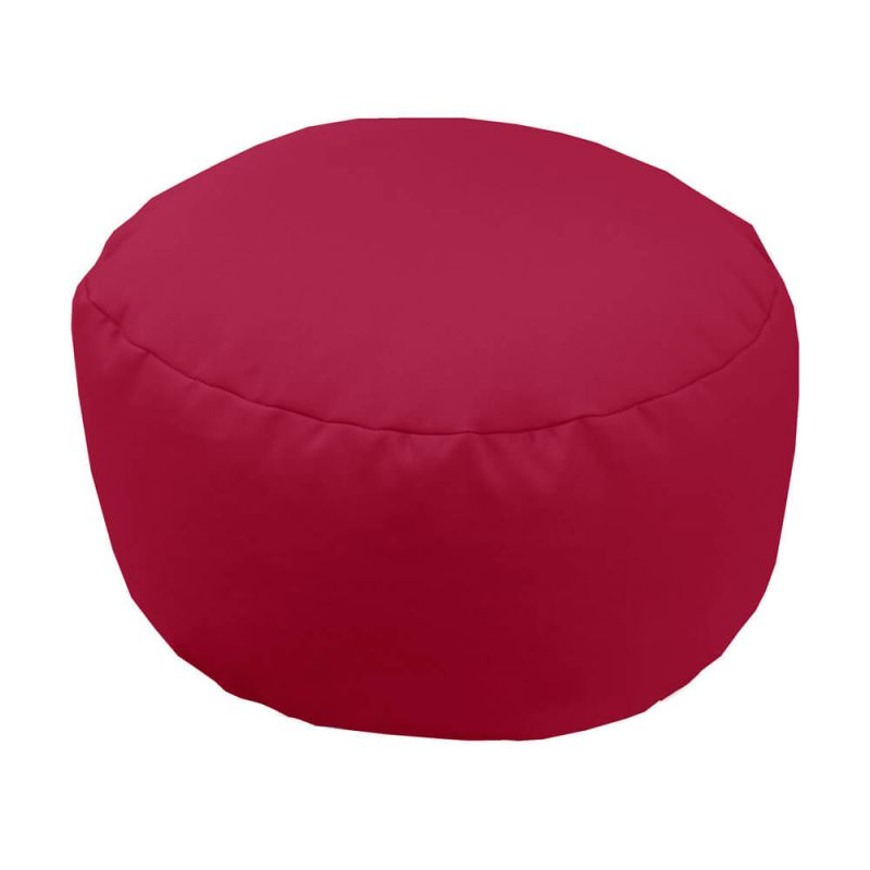 Vibe Footstool Bean Bag - Cerise Pink