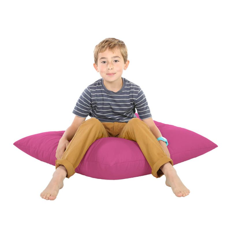 Indoor & Outdoor Giant Floor Cushion Bean Bag - Cerise Pink