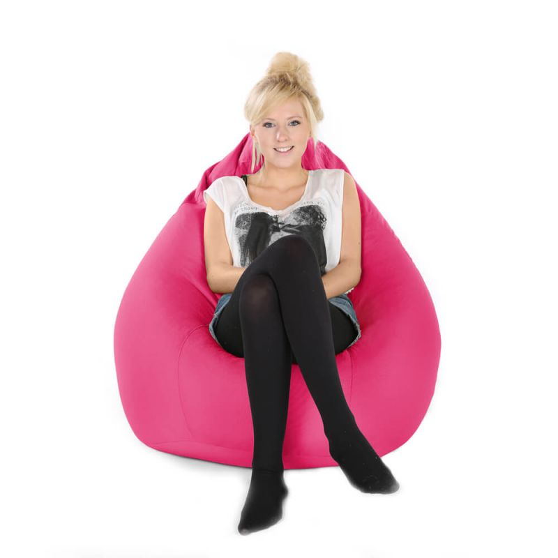 Indoor & Outdoor XXL Gaming Pod Bean Bag - Cerise Pink