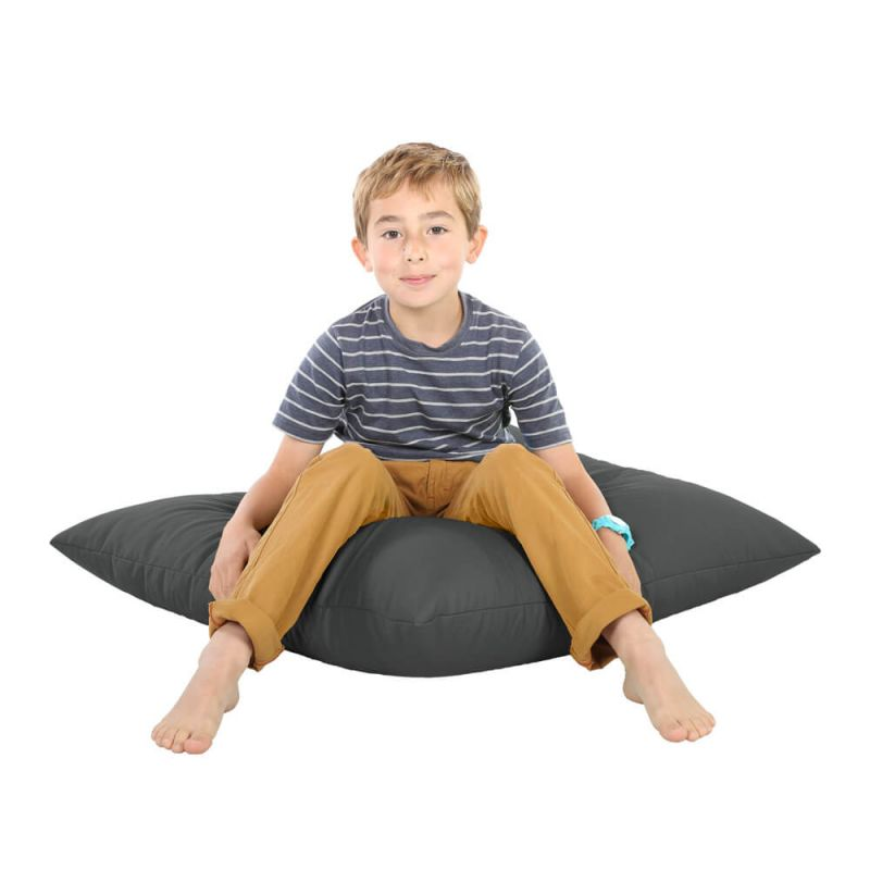 Indoor & Outdoor Giant Floor Cushion Bean Bag - Slate Grey