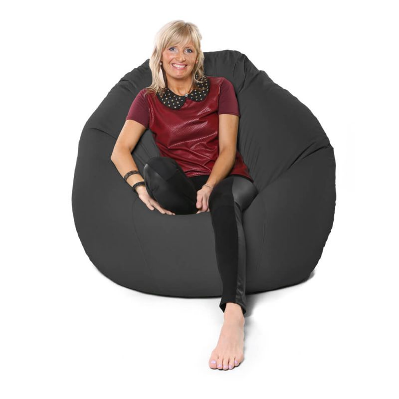 Vibe Giant Mansize Bean Bag - Slate Grey