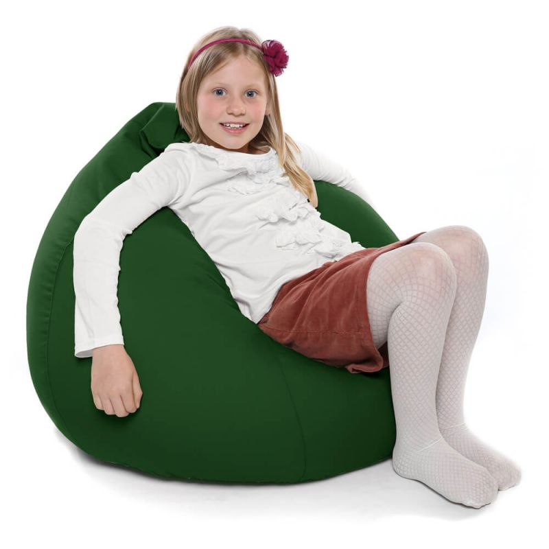 Indoor & Outdoor Kids Tall Gamer Bean Bag - Bottle Green