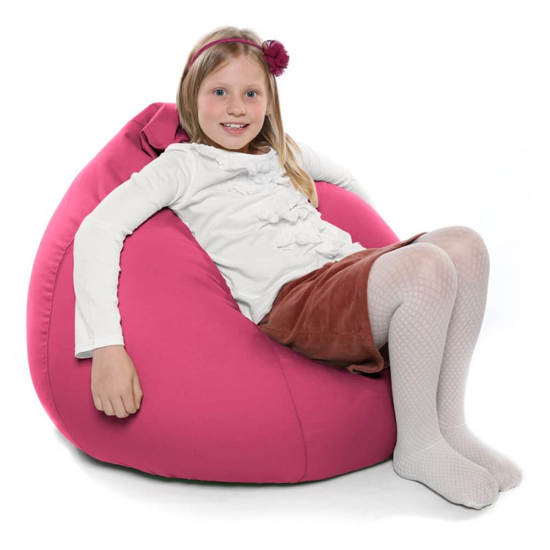 Indoor & Outdoor Kids Tall Gamer Bean Bag - Cerise Pink