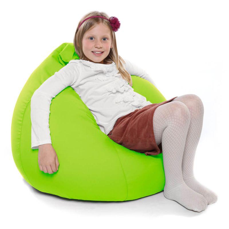 Indoor & Outdoor Kids Tall Gamer Bean Bag - Lime Green