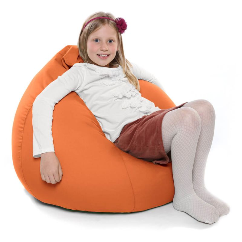 Indoor & Outdoor Kids Tall Gamer Bean Bag - Orange
