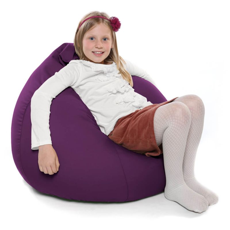Indoor & Outdoor Kids Tall Gamer Bean Bag - Purple