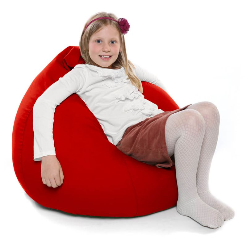 Indoor & Outdoor Kids Tall Gamer Bean Bag - Red