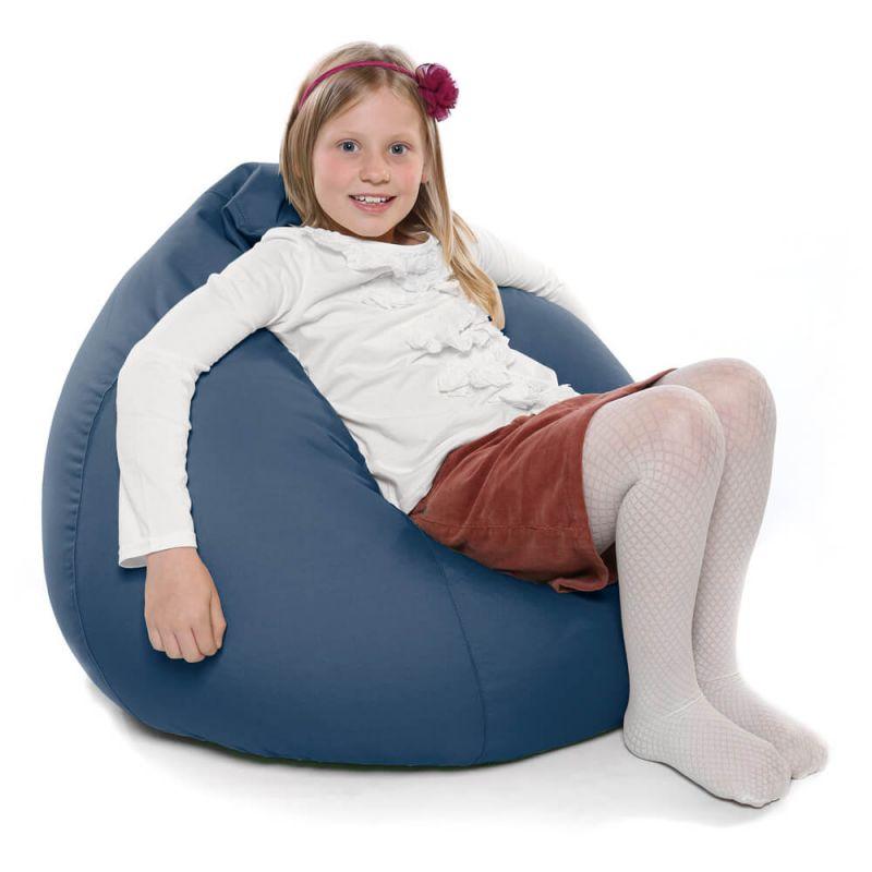 Indoor & Outdoor Kids Tall Gamer Bean Bag - Royal Blue