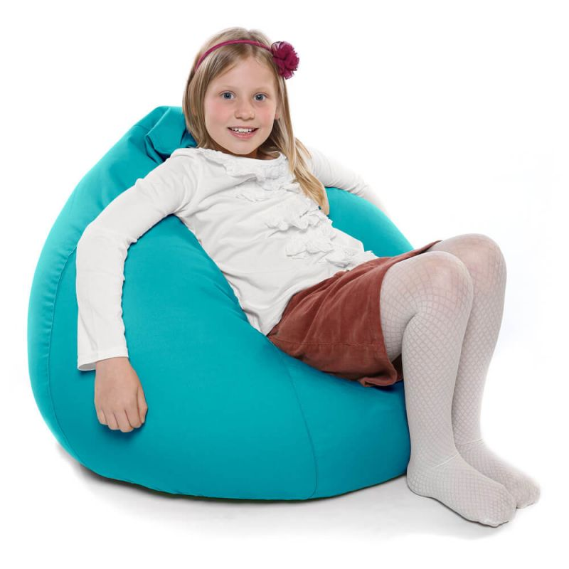 Indoor & Outdoor Kids Tall Gamer Bean Bag - Turquoise