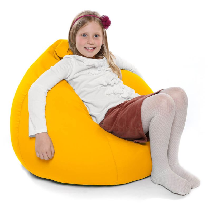 Indoor & Outdoor Kids Tall Gamer Bean Bag - Yellow