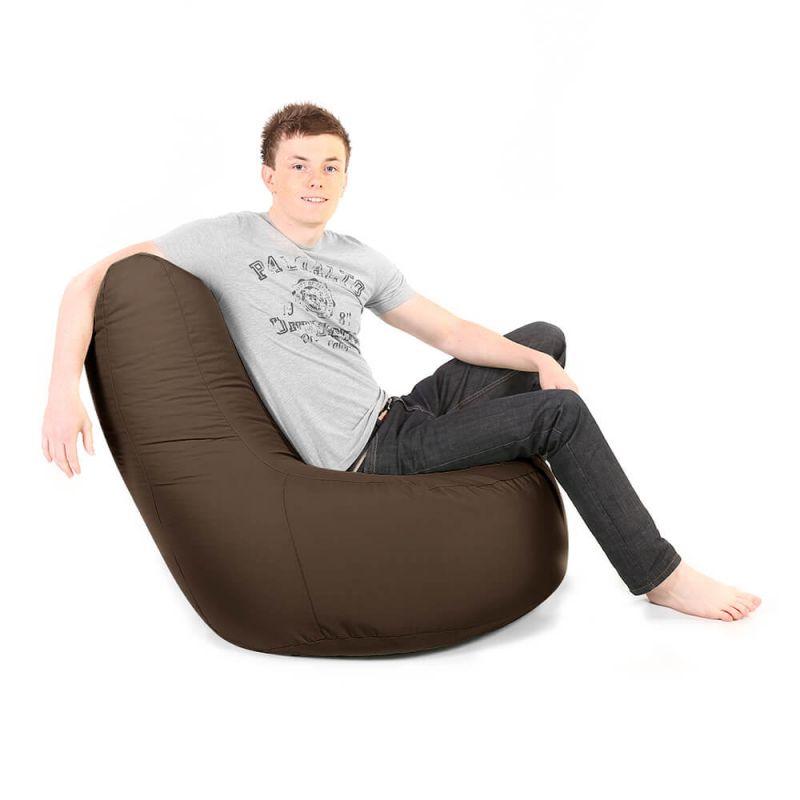 Indoor & Outdoor Giant Comfy Chair - Brown