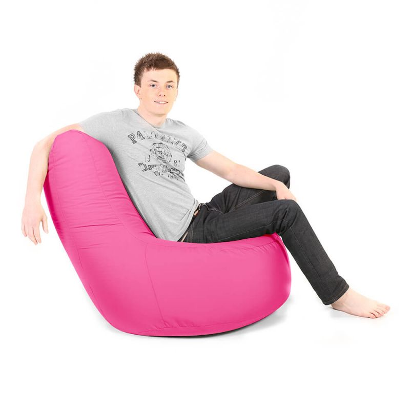 Indoor & Outdoor Giant Comfy Chair - Cerise Pink
