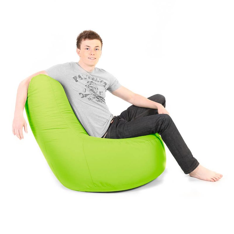 Indoor & Outdoor Giant Comfy Chair - Lime Green