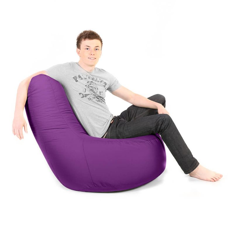 Indoor & Outdoor Giant Comfy Chair - Purple