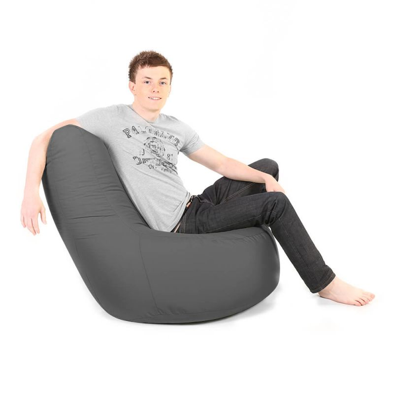 Indoor & Outdoor Giant Comfy Chair - Slate Grey