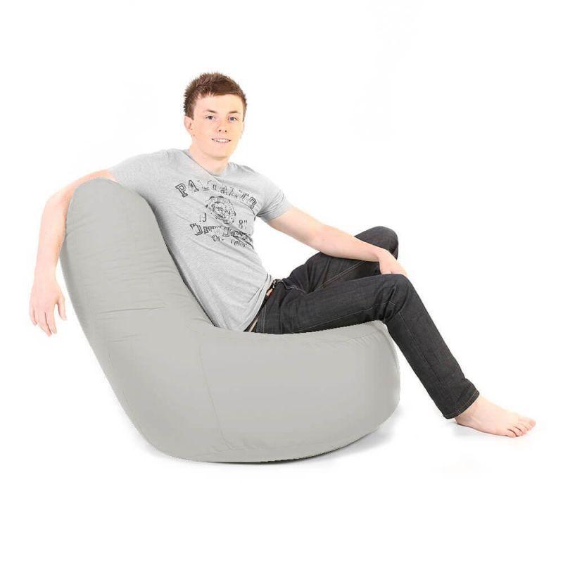 Indoor & Outdoor Giant Comfy Chair - Platinum Grey