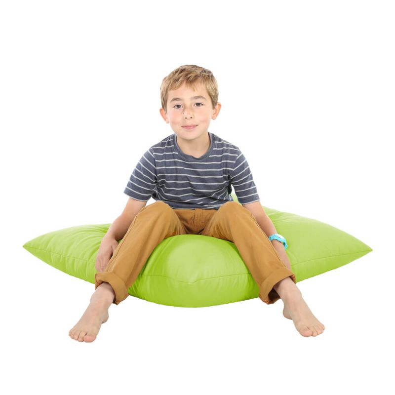 Indoor & Outdoor Giant Floor Cushion Bean Bag - Lime Green