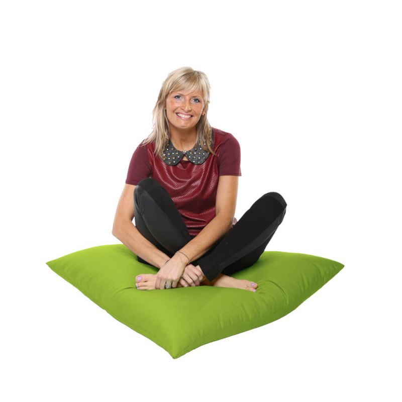 Vibe Giant Floor Cushion Bean Bag - Lime Green