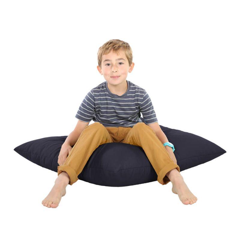 Indoor & Outdoor Giant Floor Cushion Bean Bag - Navy Blue