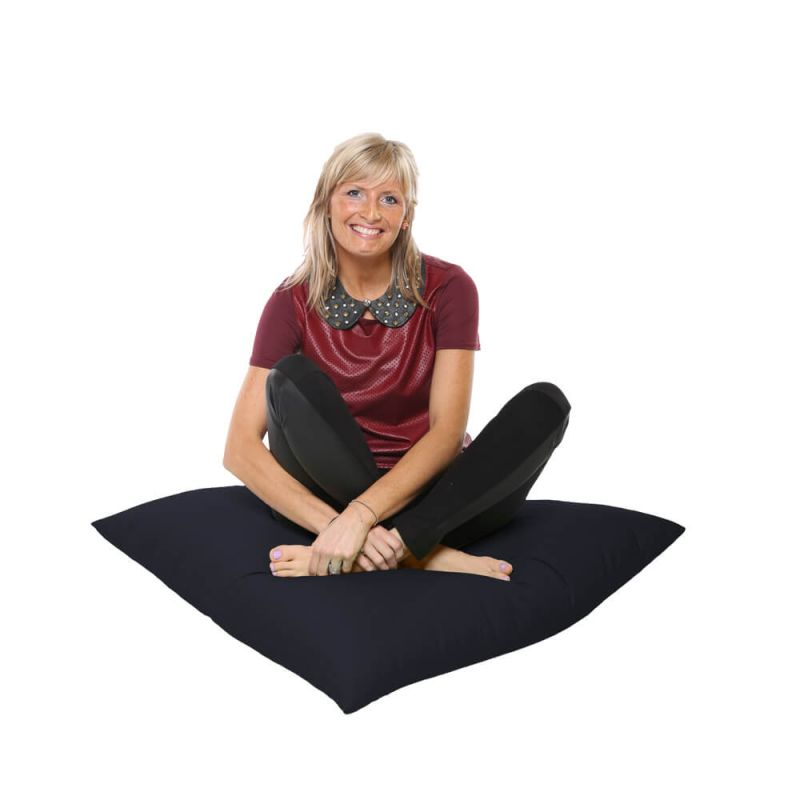Vibe Giant Floor Cushion Bean Bag - Navy Blue