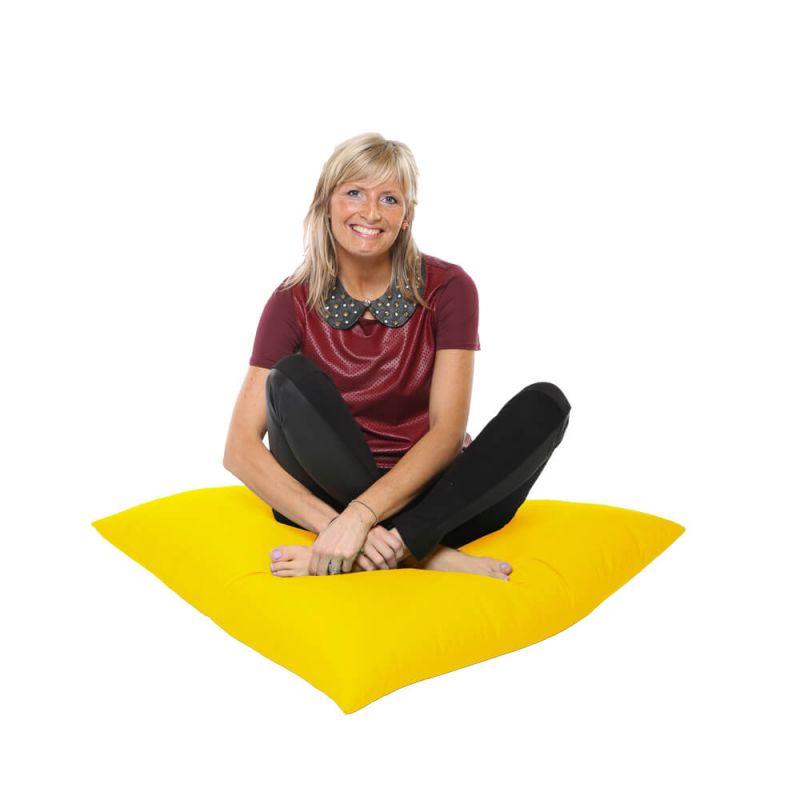 Vibe Giant Floor Cushion Bean Bag - Yellow