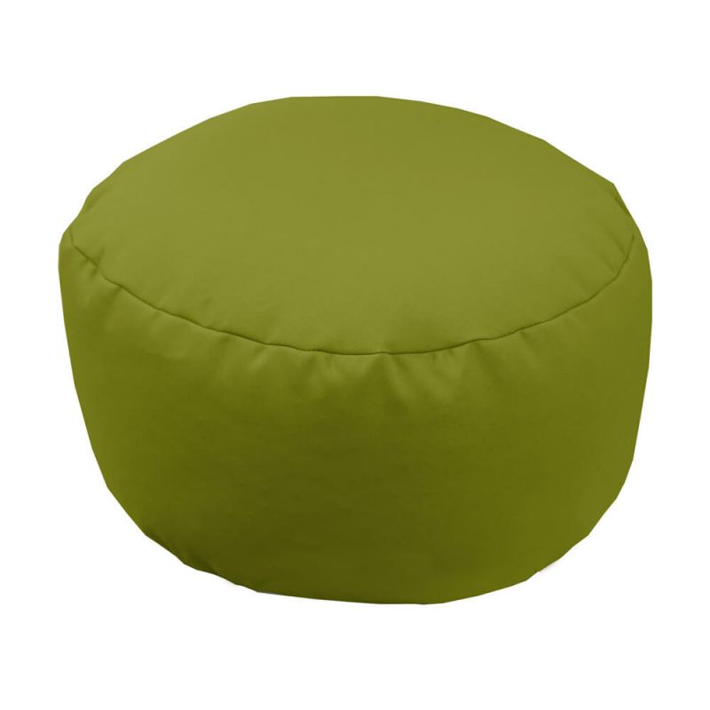 Vibe Footstool Bean Bag - Olive Green