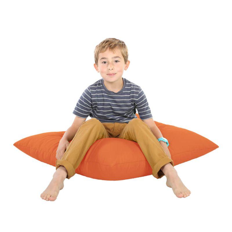 Indoor & Outdoor Giant Floor Cushion Bean Bag - Orange