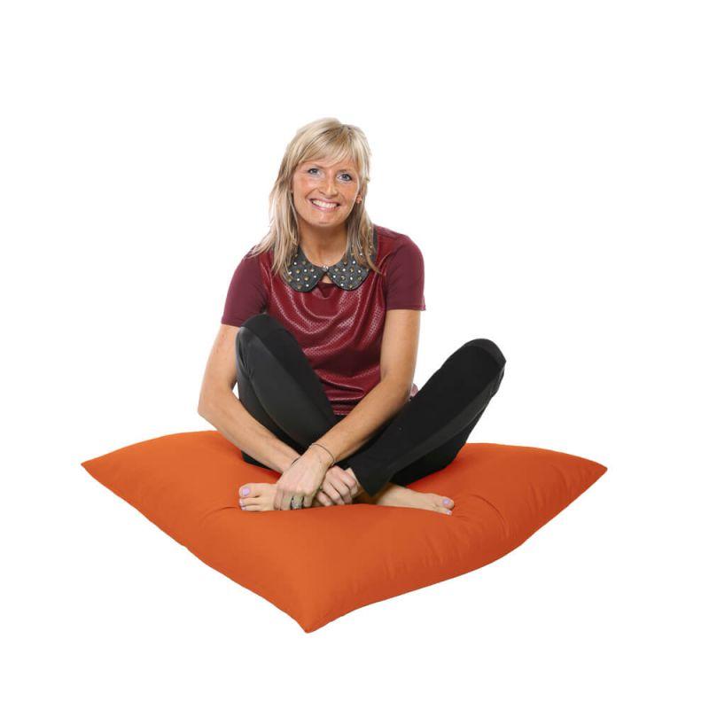 Vibe Giant Floor Cushion Bean Bag - Orange