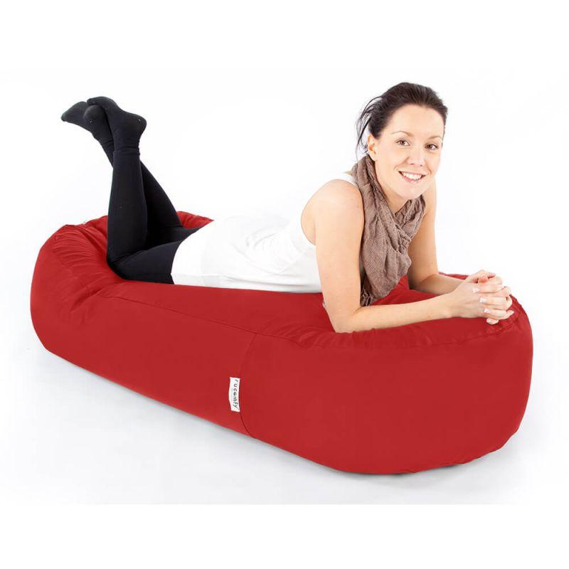 Indoor & Outdoor 5ft Bean Sofa Bean Bag - Red