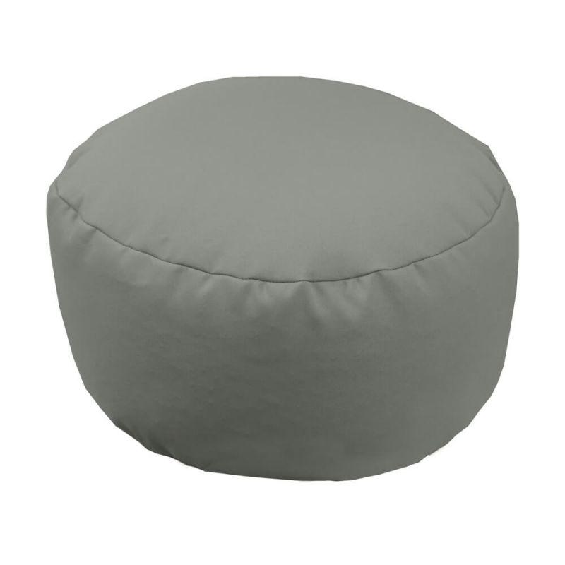 Vibe Footstool Bean Bag - Platinum Grey