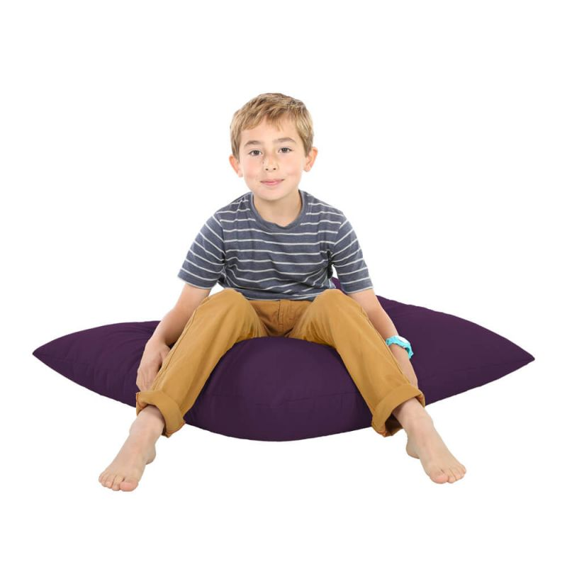 Indoor & Outdoor Giant Floor Cushion Bean Bag - Purple