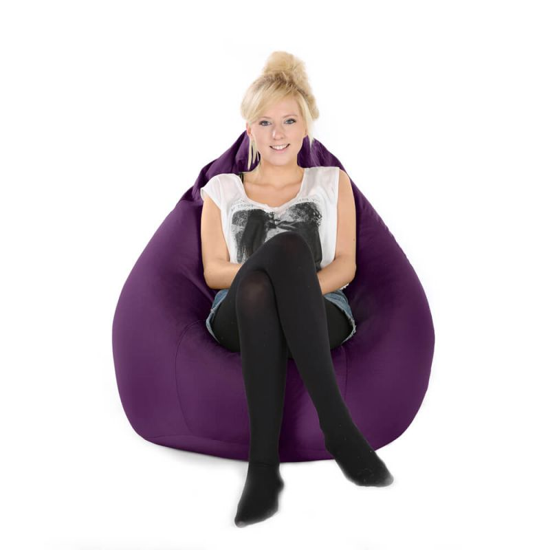 Indoor & Outdoor XXL Gaming Pod Bean Bag - Purple
