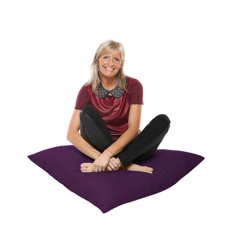 Vibe Giant Floor Cushion Bean Bag - Purple