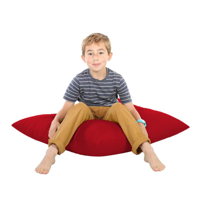 Indoor & Outdoor Giant Floor Cushion Bean Bag - Red