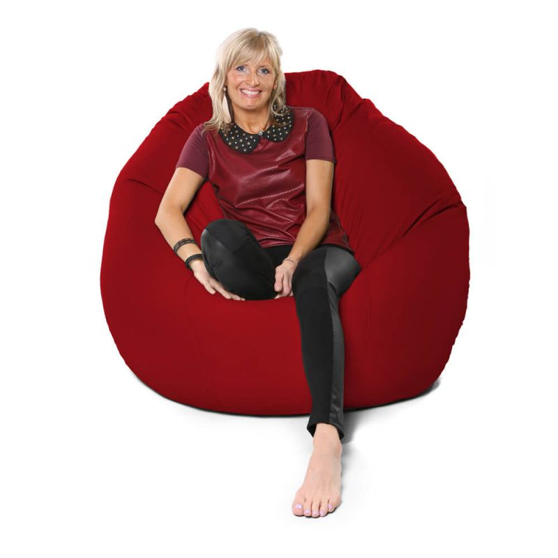 Vibe Giant Mansize Bean Bag - Red