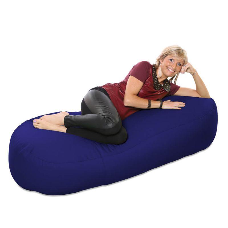 Vibe 5ft Bean Sofa Bean Bag - Royal Blue