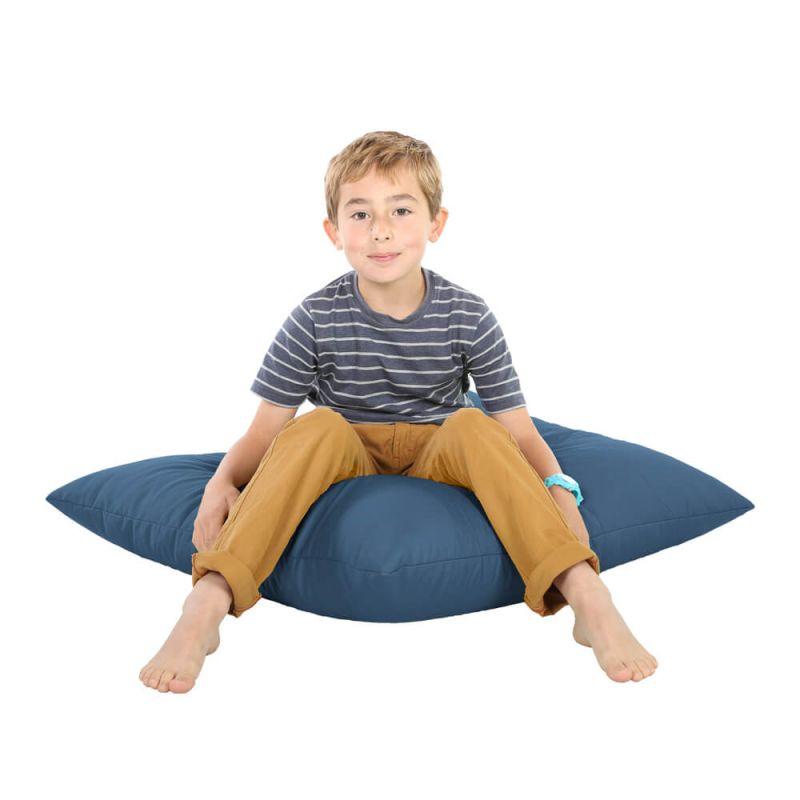 Indoor & Outdoor Giant Floor Cushion Bean Bag - Royal Blue