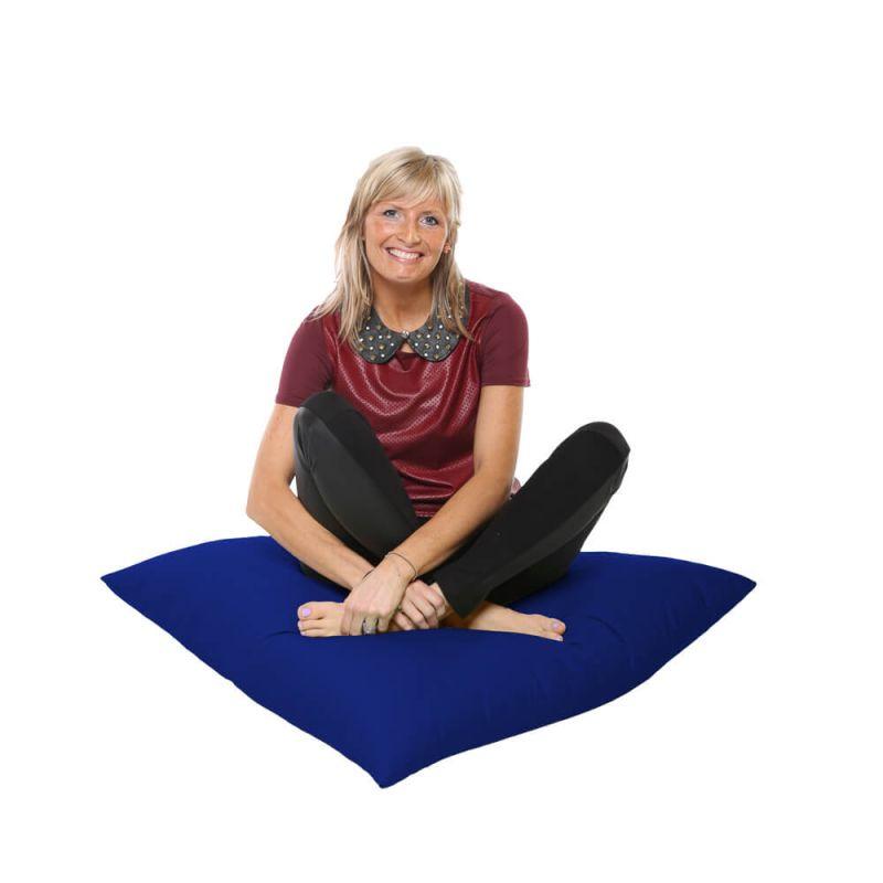 Vibe Giant Floor Cushion Bean Bag - Royal Blue